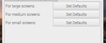 Raspbian Stretchがアップデート:異なるスクリーン解像度をサポート