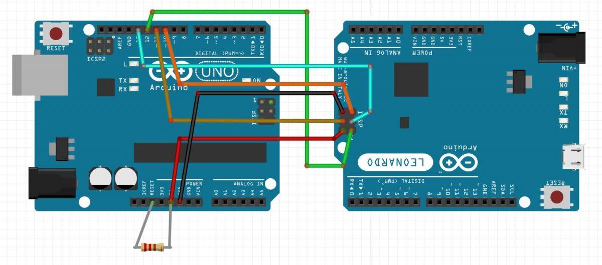 Arduinoのブートローダの修復方法