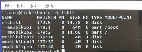 Tinker Board S の eMMC に OS をインストールする手順