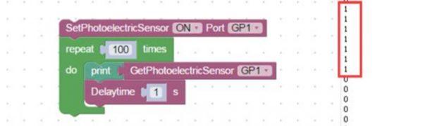 マイクロ生産ラインのデモでPhotoelectricセンサーが動作しない。